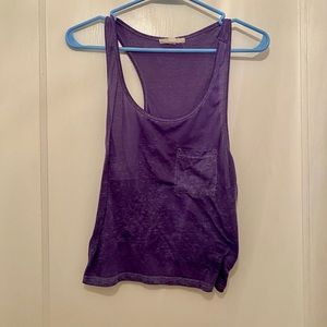 Forever 21 Purple Tank Top